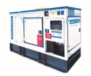 100 kVA Fusteq Ultra Quiet Generator
