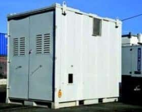 Secured containers for power generators 3