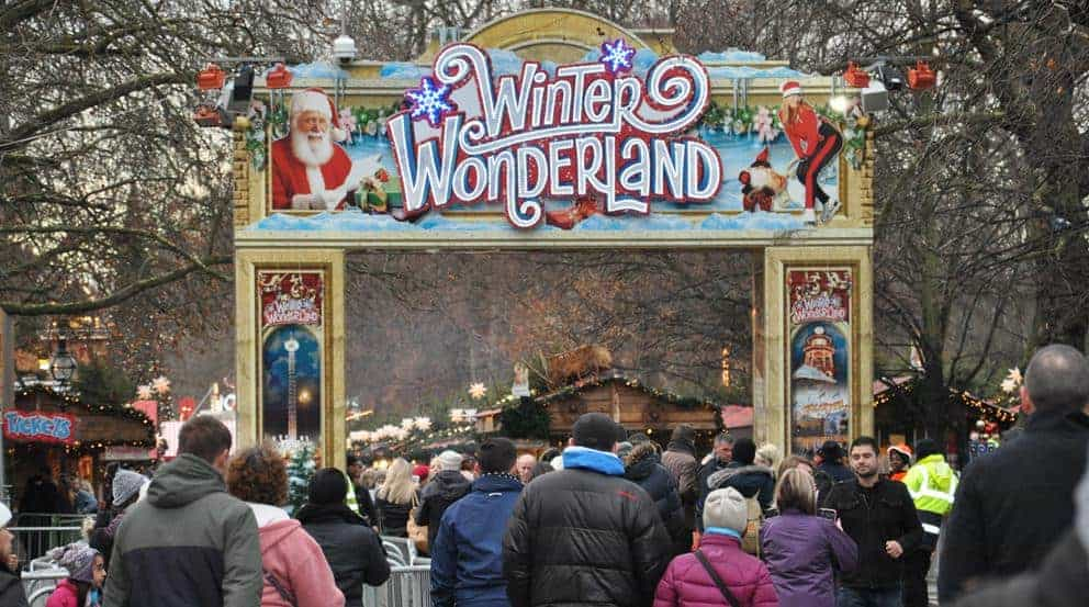 Events - John F Hunt Power generators at Winter Wonderland